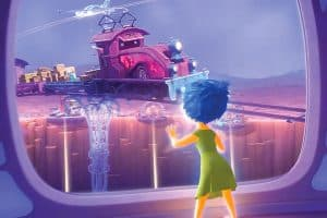The Train of Thought from Inside Out kinda looks like Mater.